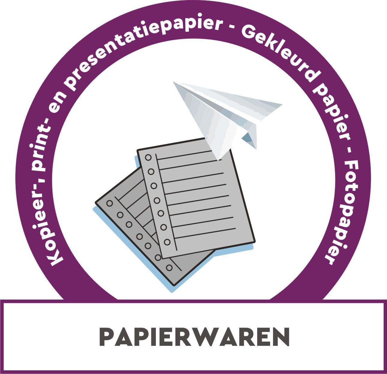 Kopieer-, print- en presentatiepapier, gekleurd papier, fotopapier, ...
