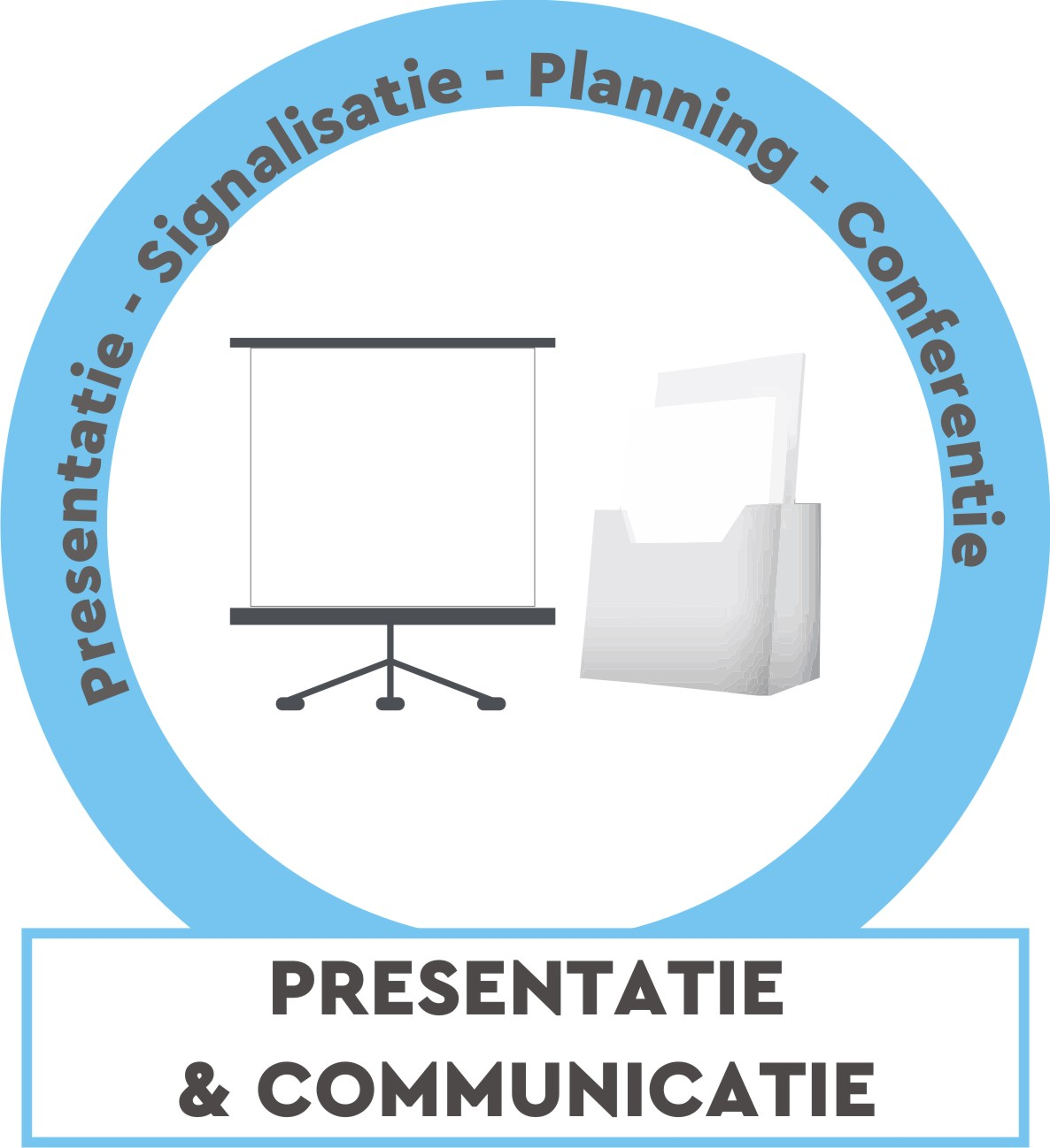 Presentatie, signalisatie, planning, ...